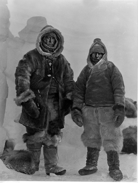 Jung and Freud Photoshopped in the Arctic