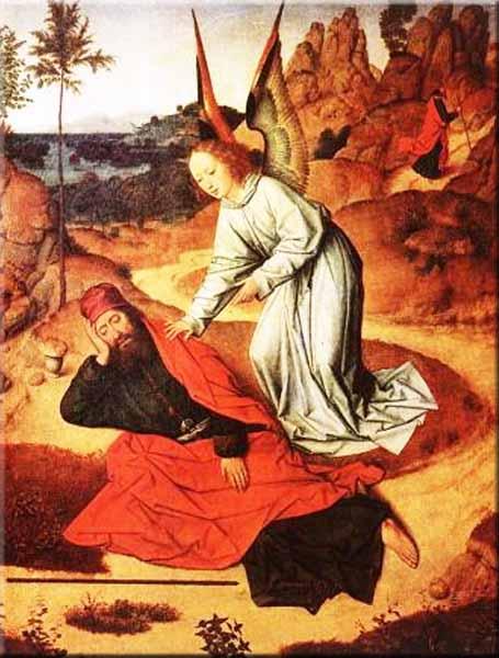 Prophet Elijah Biography Prophet Elijah in The Desert