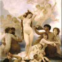 Seven Paintings of the Birth of Venus