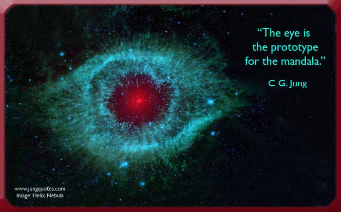 Cg Jung The Eye Is The Prototype For The Mandala Jung Currents