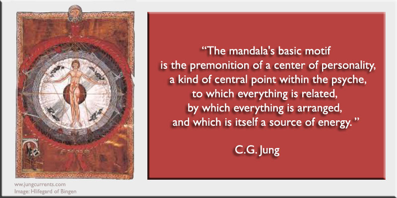 Cg Jung The Mandalas Basic Motif Is The Premonition Of A Center
