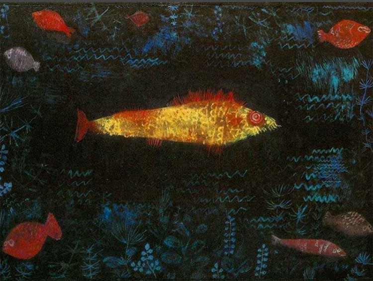 Klee-Fish-Golden