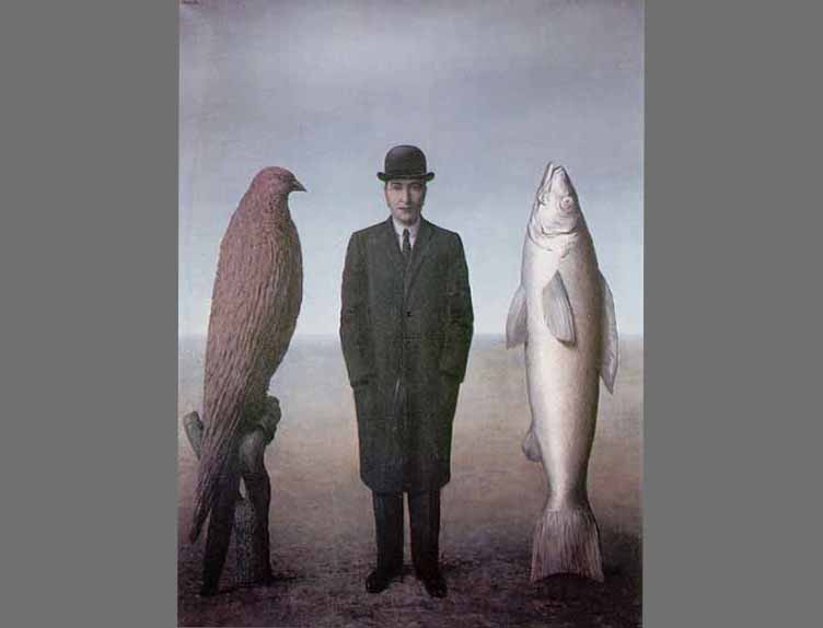 Magritte-Centered-Fish-Man