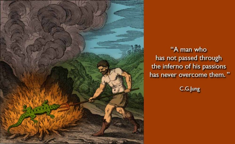 Cg Jung A Man Who Has Not Passed Through The Inferno Of His