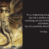 Carl Jung: The shadow includes a demonic dynamism