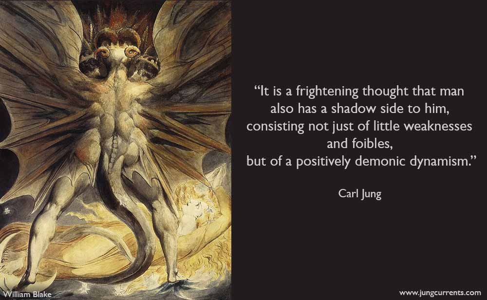 carl jung  the shadow includes a demonic dynamism
