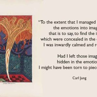 Carl Jung, the Red Book and Art therapy