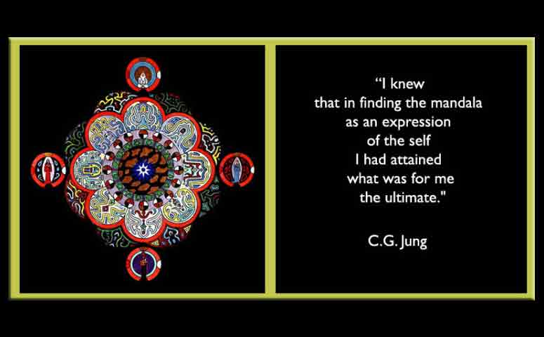Jung Quotation on the mandala as the ultimate expression of the self