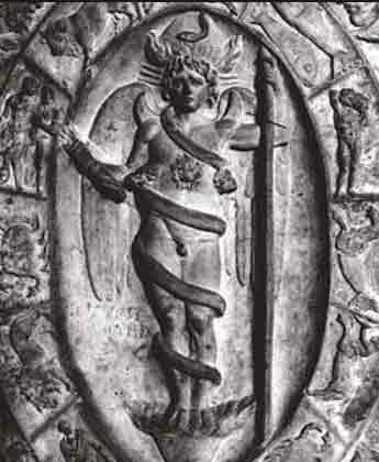 Image of Phanes, commentary by Carl Jung