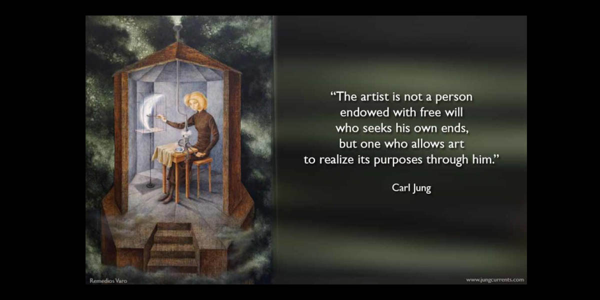 carl jung seven illustrated quotations about art  jung